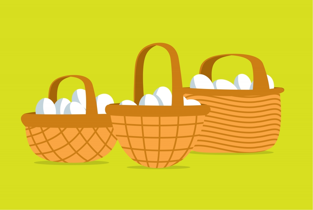 diversification - eggs in a basket